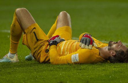 Kevin Trapp Hinrundenaus Bundesliga Frankfurt Comunio Cropped