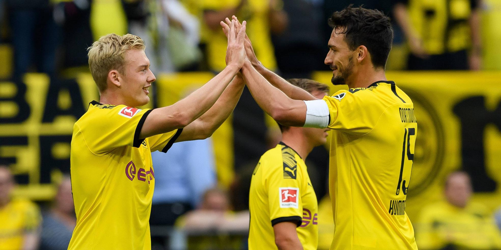 Julian Brandt und Mats Hummels