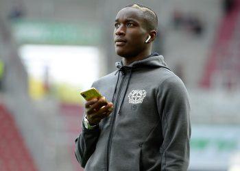 Moussa Diaby ist bei Bayer 04 Leverkusen nur Ersatzspieler
