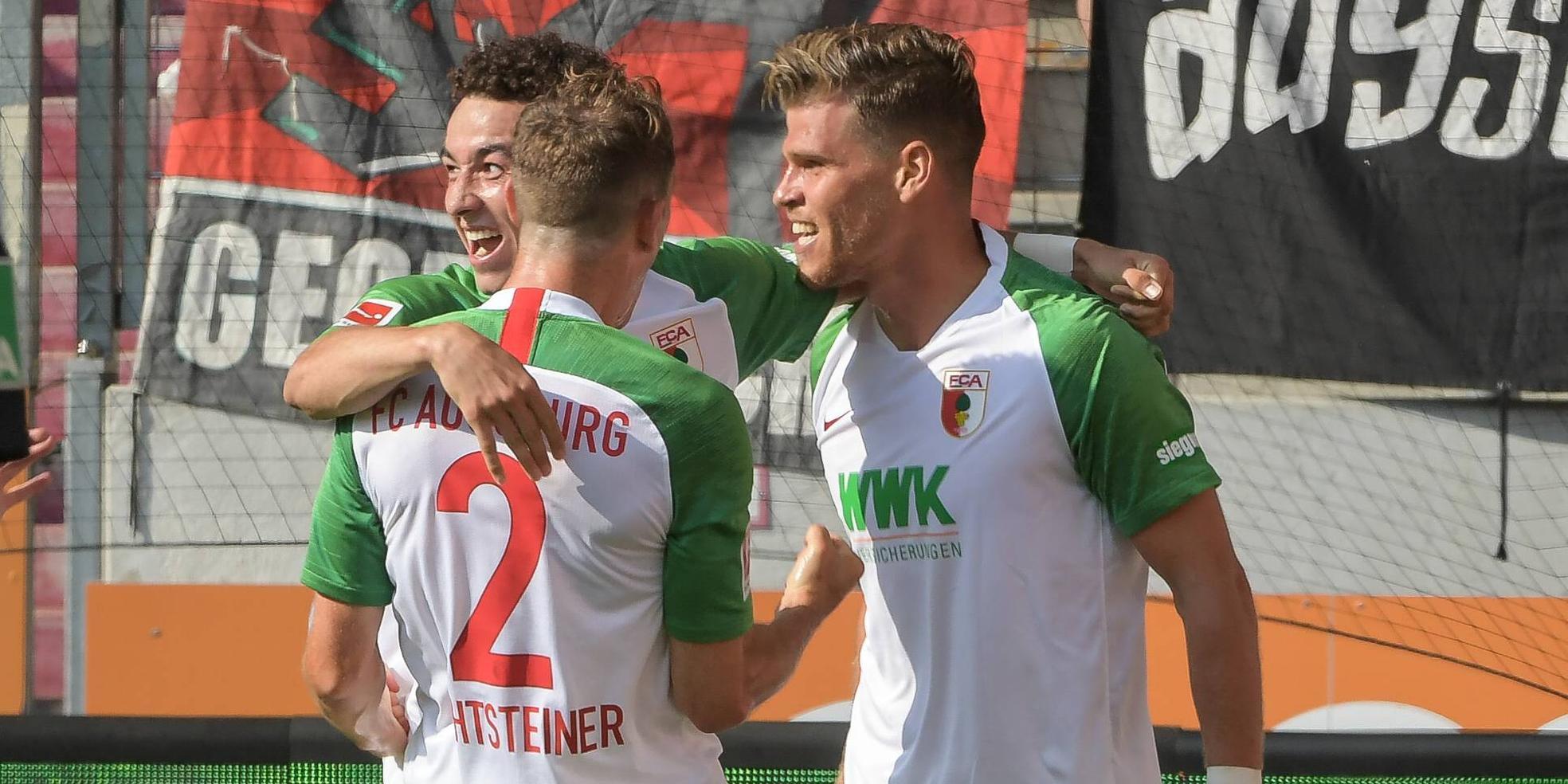 Ruben Vargas und Florian Niederlechner