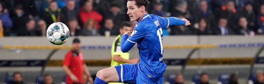 Sebastian Rudy Hoffenheim, 16, am Ball, Freisteller, Ganzkörper, Einzelbild, Aktion, Action, 01.11.2019, Sinsheim Deutschland, Fussball, Bundesliga, TSG 1899 Hoffenheim - SC Paderborn 07, DFB/DFL REGULATIONS PROHIBIT ANY USE OF PHOTOGRAPHS AS IMAGE SEQUENCES AND/OR QUASI-VIDEO. *** Sebastian Rudy Hoffenheim, 16 , am Ball, Freisteller, Ganzkörper, Einzelbild, Aktion, Action, 01 11 2019, Sinsheim Germany , Football, Bundesliga, TSG 1899 Hoffenheim SC Paderborn 07, DFB DFL REGULATIONS PROHIBIT ANY USE OF PHOTOGRAPHS AS IMAGE SEQUENCES AND OR QUASI VIDEO xozx