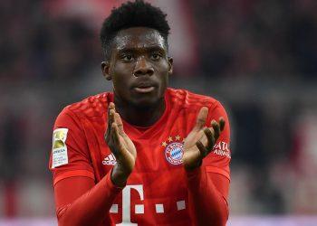 Alphonso Davies vom FC Bayern München