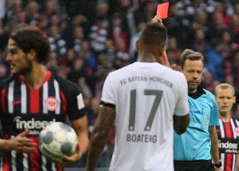 Jerome Boateng fliegt vom Platz