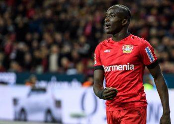 Moussa Diaby von Bayer 04 Leverkusen