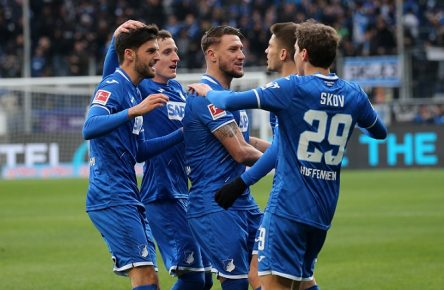 1-0 fuer 1899 Hoffenheim durch Andrej Kramaric 27, 1899 Hoffenheim, torjubel, Fussball, 1. Bundesliga: TSG 1899 Hoffenheim - Fortuna Düsseldorf, 13. Spieltag am 30.11.2019, Saison 2019/20, ZmdZ, ** Gemäß den Vorgaben der DFL Deutsche Fußball Liga ist es untersagt, in dem Stadion und/oder vom Spiel angefertigte Fotoaufnahmen in Form von Sequenzbildern und/oder videoähnlichen Fotostrecken zu verwerten bzw. verwerten zu lassen. // DFL regulations prohibit any use of photographs as image sequences and/or quasi-video. ** 1899 Hoffenheim - Fortuna Düsseldorf *** 1 0 for 1899 Hoffenheim by Andrej Kramaric 27, 1899 Hoffenheim , goal jubilation, football, 1 Bundesliga TSG 1899 Hoffenheim Fortuna Düsseldorf, 13 matchday on 30 11 2019, season 2019 20, ZmdZ, According to the rules of the DFL Deutsche Fußball Liga it is prohibited, to use or have used photographs taken in the stadium and/or the match in the form of sequence pictures and/or video-like photo series DFL regulations prohibit any use of photographs as image sequences and or quasi video 1899 Hoffenheim Fortuna Düsseldorf