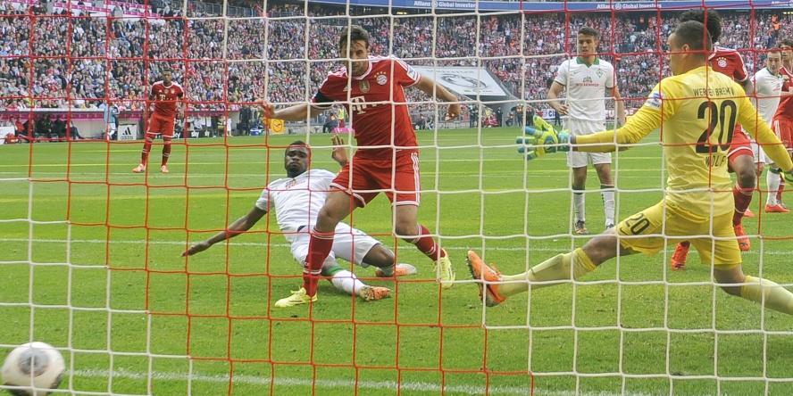 Claudio Pizarro ist der erfolgreichste ausländische Torjäger der Bundesliga.