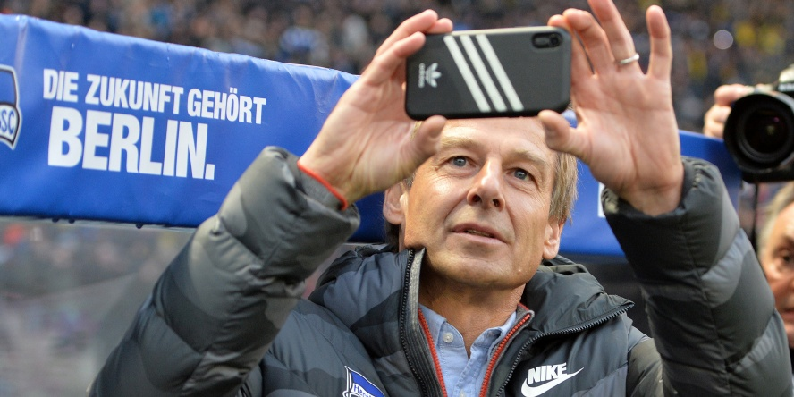 Jürgen Klinsmann macht gerne Fotos.