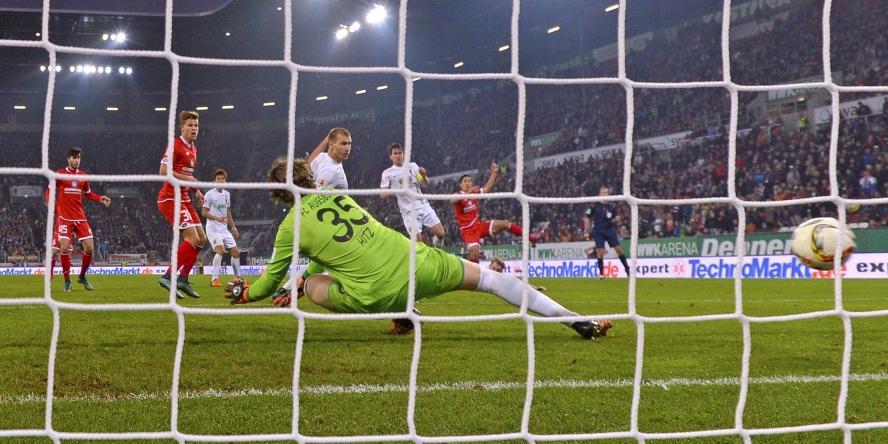 Das Tor ins Glück: Comunio History: Yoshinori Muto erzilte in der Nachspielzeit den Ausgleich gegen den FC Augsburg.