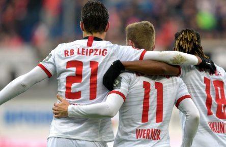 Patrik Schick, Timo Werner und Christopher Nkunku glänzen aktuell bei RB Leipzig.