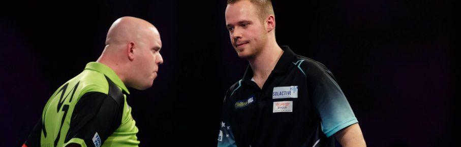 Max Hopp und Michael van Gerwen