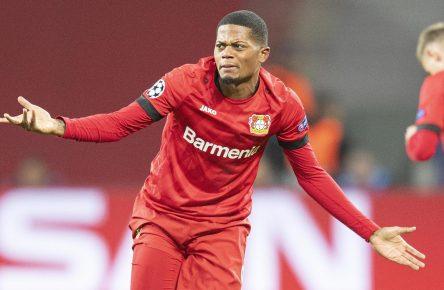 Leon Bailey von Bayer 04 Leverkusen