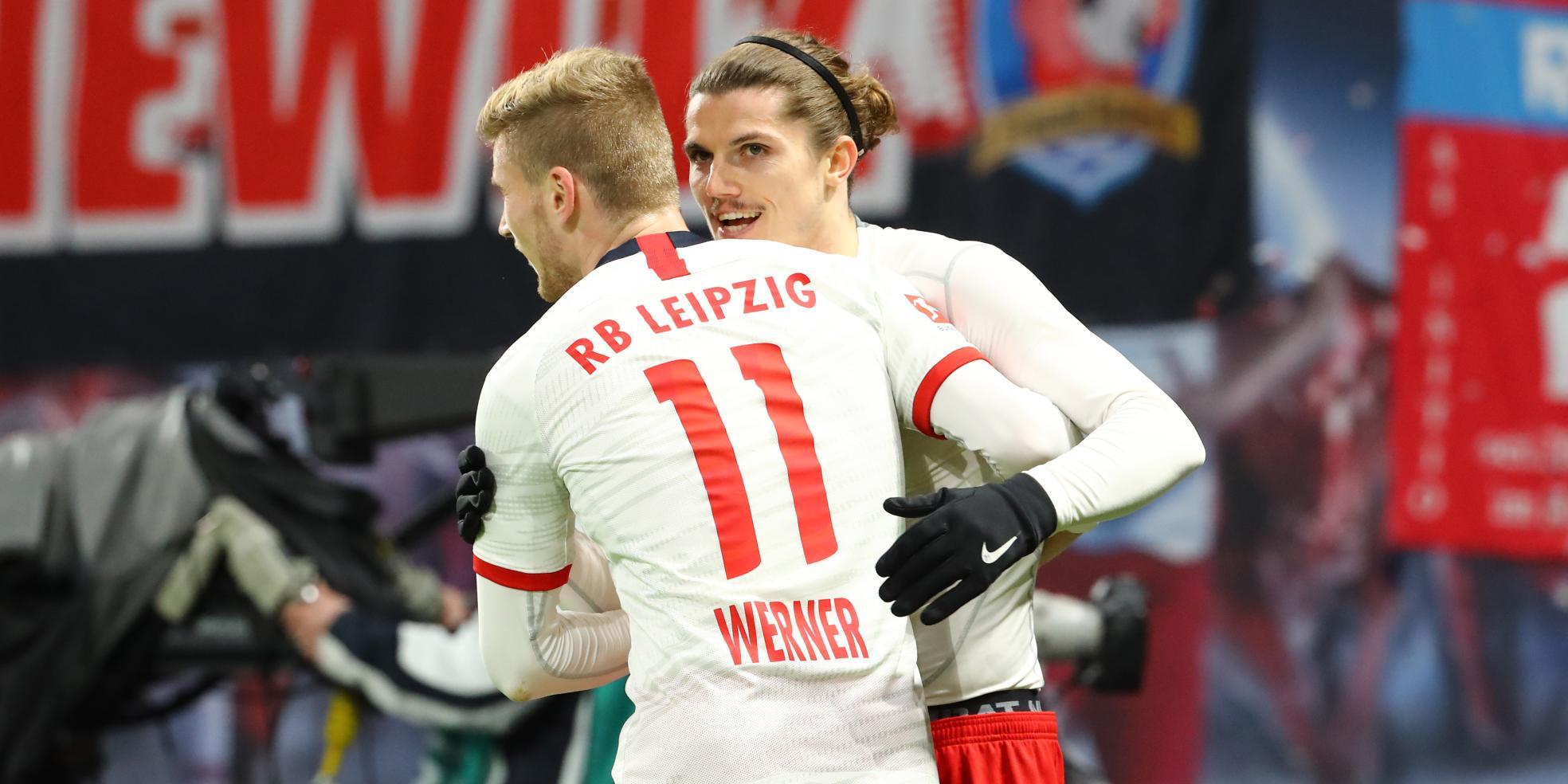 Timo Werner und Marcel Sabitzer