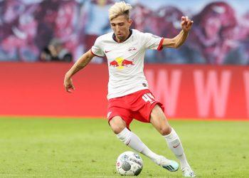 Kevin Kampl am Ball für RB Leipzig