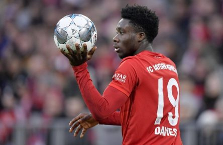 Alphonso Davies Bayern München Youngster Comunio Cropped