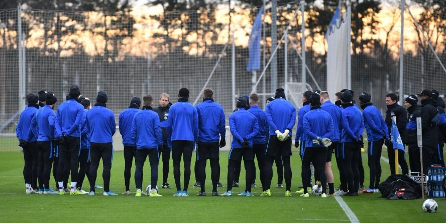 Hertha BSC möchte eine bessere Rückrunde spielen.