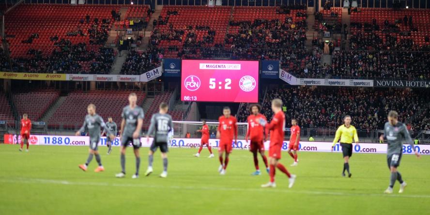 Der FC Bayeren verlor ein Testspiel gegen den 1. FC Nürnberg mit 5:2.