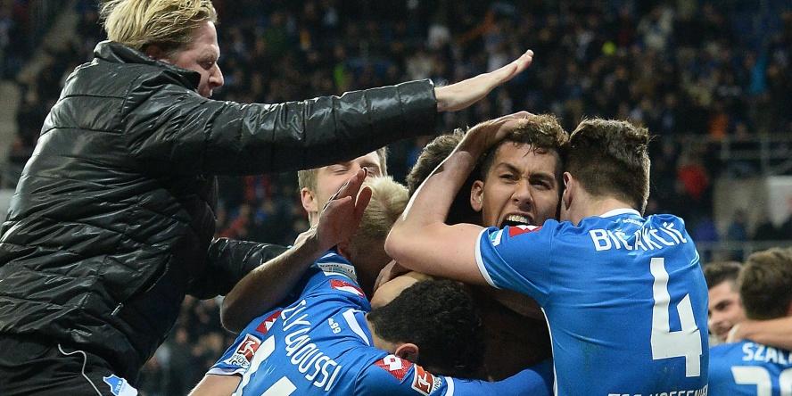 Man of the Match: Roberto Firmino traf kurz vor Schluss zum Sieg für die TSG Hoffenheim.
