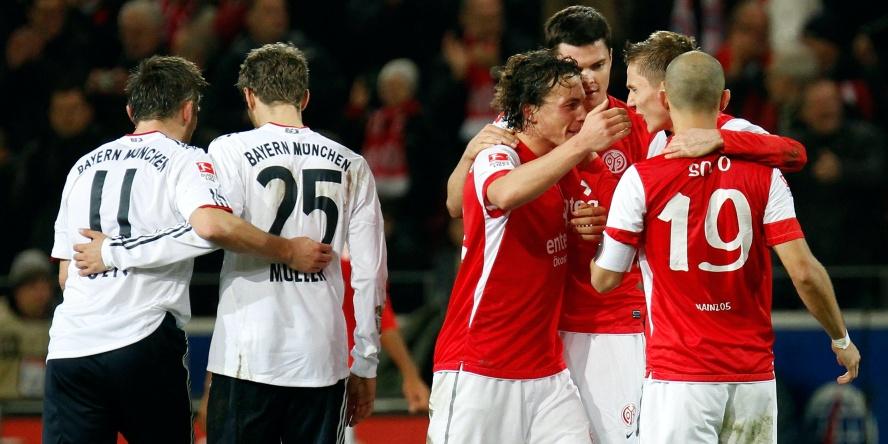 Im November 2011 schlug der 1. FSV Mainz letztmals die Bayern.