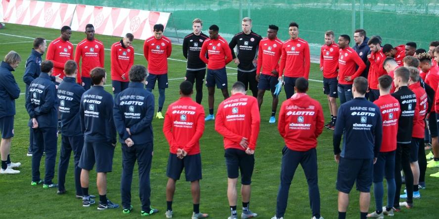 Der 1. FSV Mainz bereitet sich in Marbella auf die Rückrunde vor.