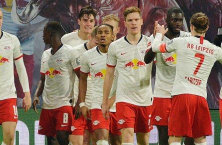 RB Leipzig geht als Tabellenführer in die Rückrunde.