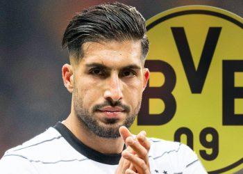 Emre Can spielt ab sofort für den BVB.