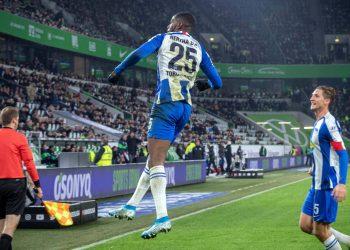 Jordan Torunarigha trifft für Hertha BSC
