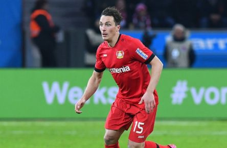 Julian Baumgartlinger ist gut in Form.