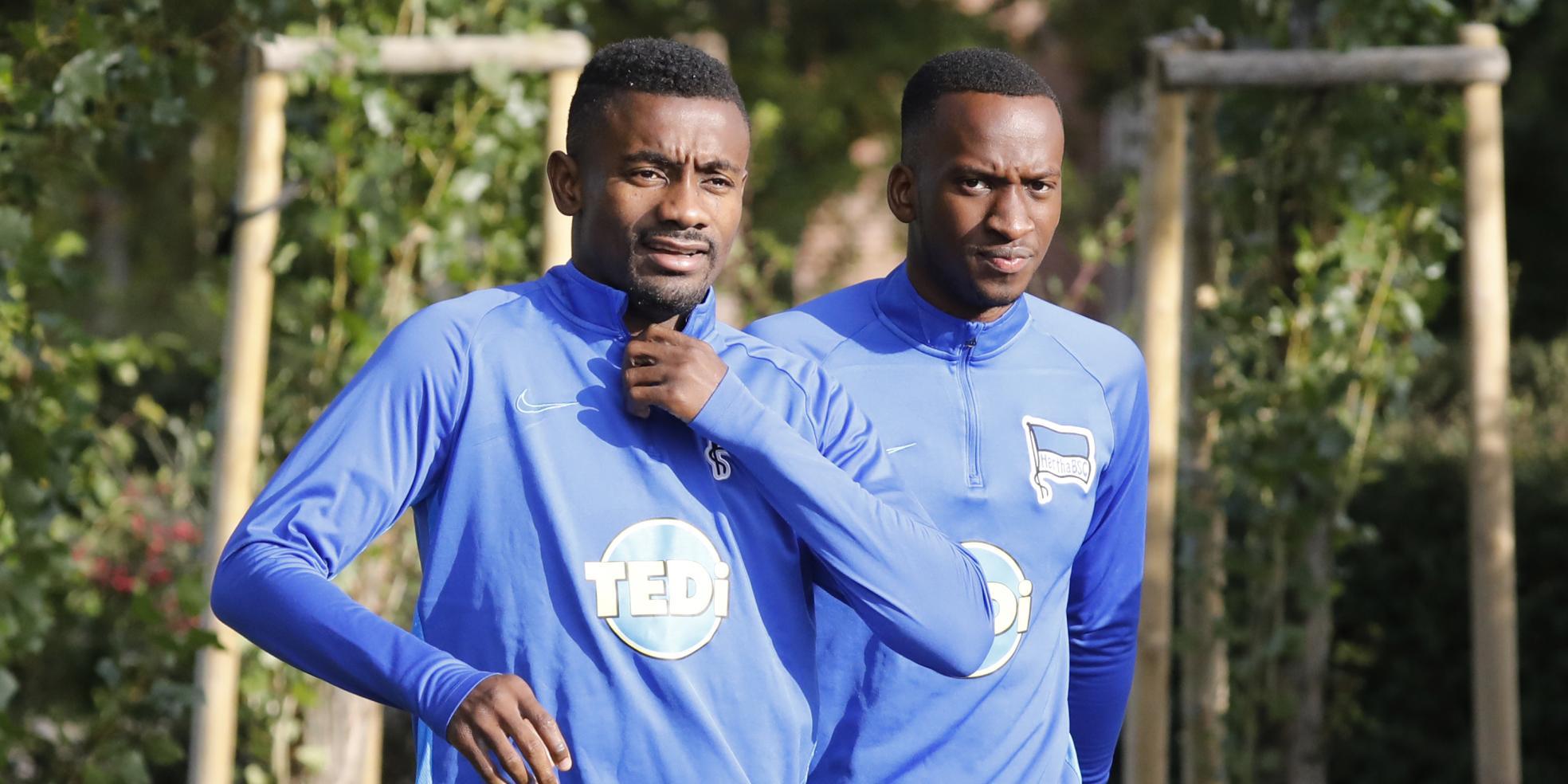Salomon Kalou und Dodi Lukebakio