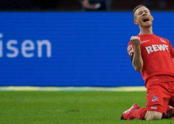 Jubelt zuletzt zweimal für Köln: Florian Kainz