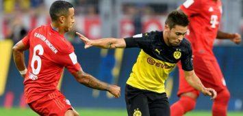 Thiago (l.) und Raphael Guerreiro sind die beiden formstärksten Mittelfeldspieler