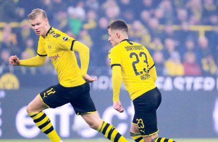 Haaland und Hazard erschreckten die BVB-Fans.