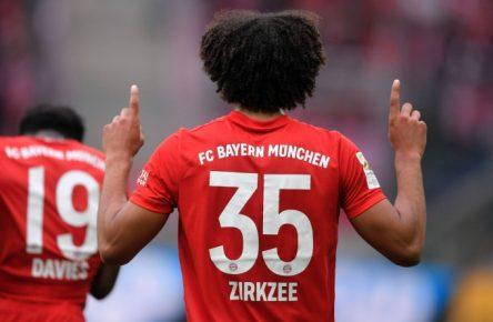 Joshua Zirkzee erzielte in nicht einmal 100 Bundesligaminuten bereits drei Treffer.