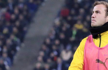 Bei Borussia Dortmund meist nur Ersatzspieler: Mario Götze