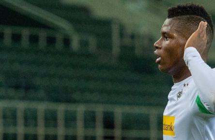 Jubelt zuletzt für Borussia Mönchengladbach: Breel Embolo