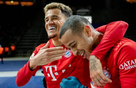 Philippe Coutinho und Thiago