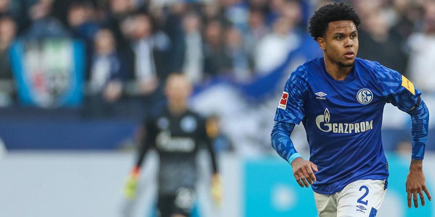 Weston McKennie im Einsatz für den FC Schalke 04