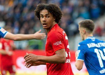 Joshua Zirkzee vom FC Bayern