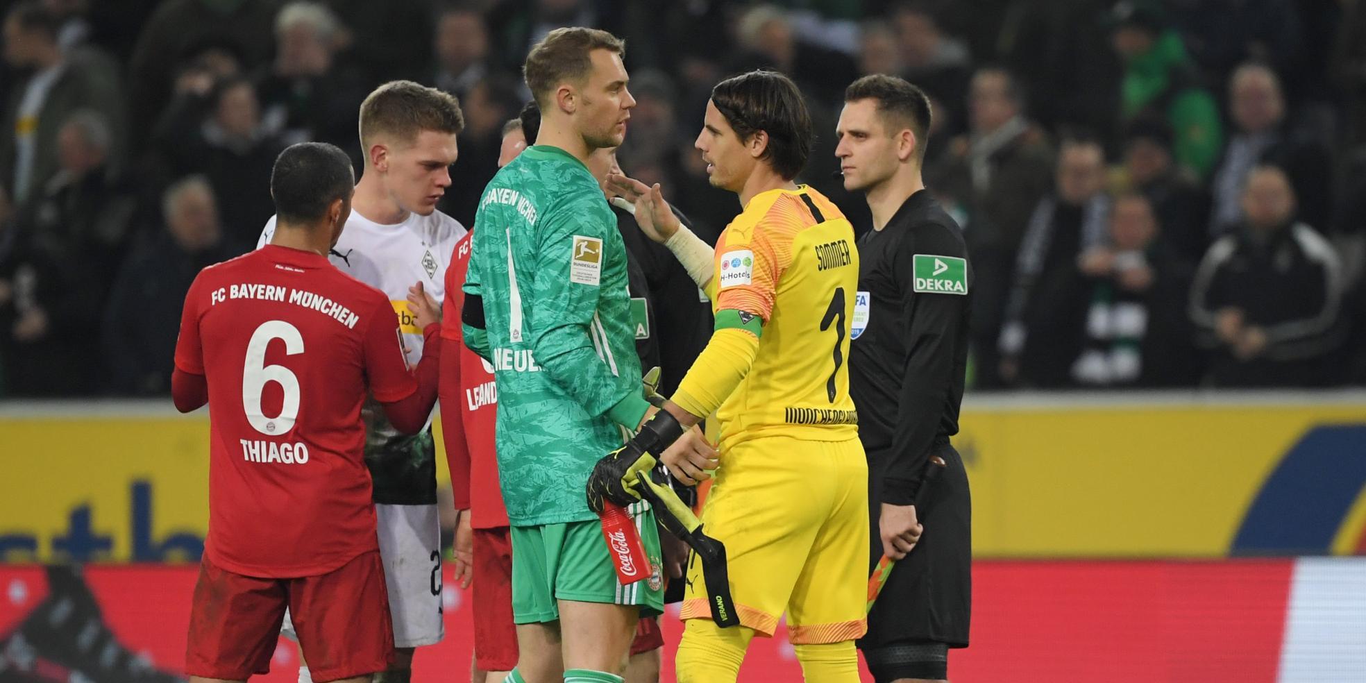 Manuel Neuer und Yann Sommer