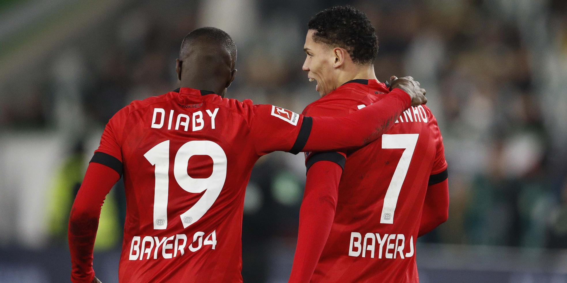 Paulinho und Moussa Diaby