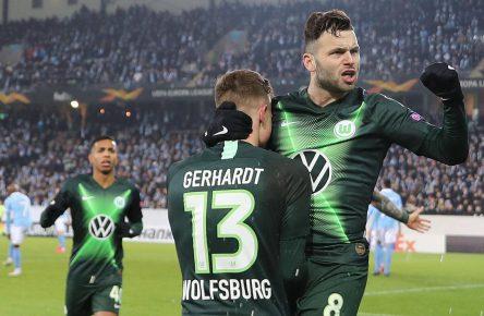 Renato Steffen vom VfL Wolfsburg