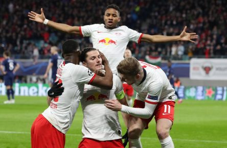 RB Leipzig gewinnt in der Champions League gegen Tottenham