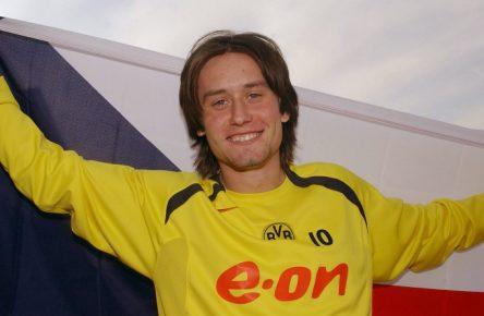 Tomas Rosicky absolvierte 186 Partien für den BVB.