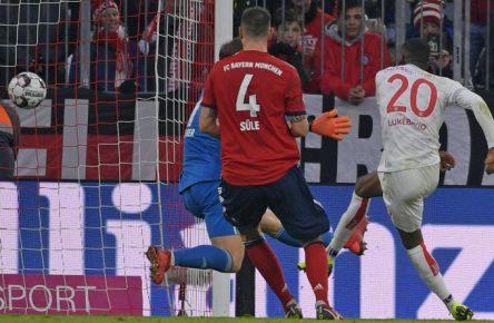 Dodi Lukebakio gelangen drei Treffer in der Allianz Arena.