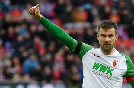 Daniel Baier vom FC Augsburg