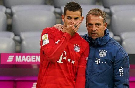 Lucas Hernandez vom FC Bayern München