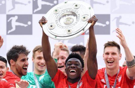 Der FC Bayern wurde wie in den vergangenen sieben Jahren Deutscher Meister.