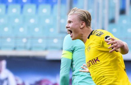 Haaland Dortmund Bundesliga Comunio Manager Cropped