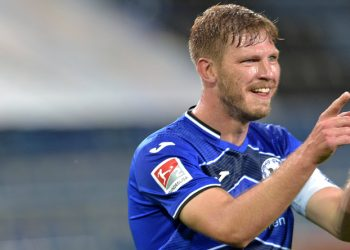 Wie oft jubelt Fabian Klos von Arminia Bielefeld in der Bundesliga?