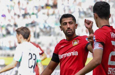Teamkollegen bei Bayer Leverkusen: Kerem Demirbay und Kai Havertz