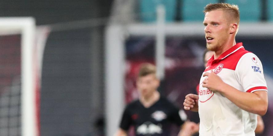 Der Stürmer von Fortuna Düsseldorf dieser Saison: Rouwen Hennings